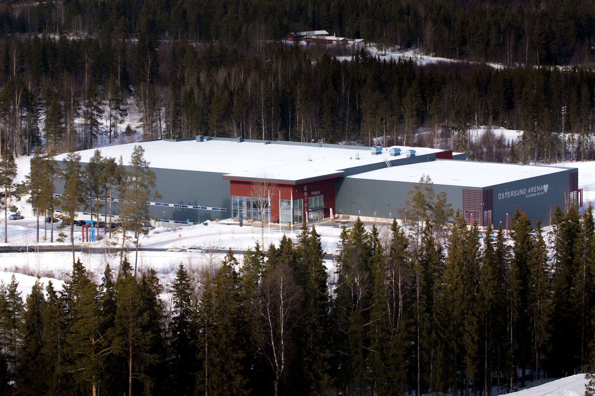 Östersund Arena, the venue of World Junior B Curling Championships 2017. © Jörgen Nilsson.